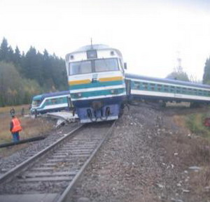 Фото №1 - Крушение поезда
