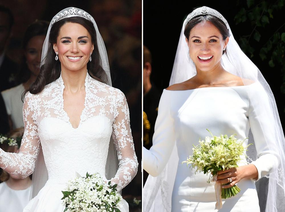 Две невесты: Меган Маркл vs Кейт Миддлтон | Marie Claire
