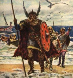 Фото №1 - Викинги носили алые шелка и блестки