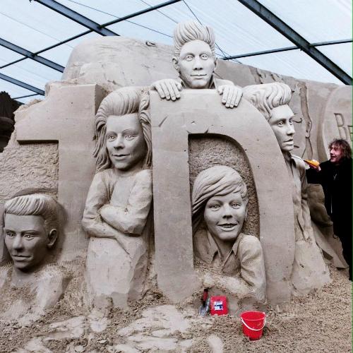 Песчаная скульптура 1D