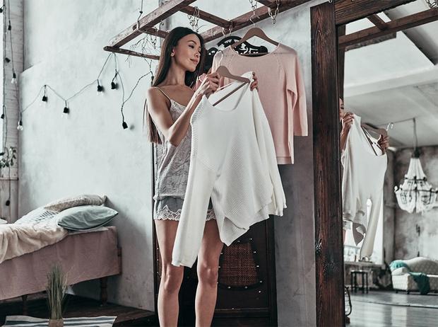 работа моделью гардероб