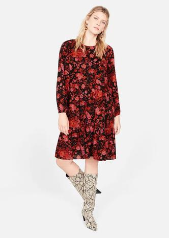 Платье с цветочным принтом, Violeta by Mango, 7499 руб.
