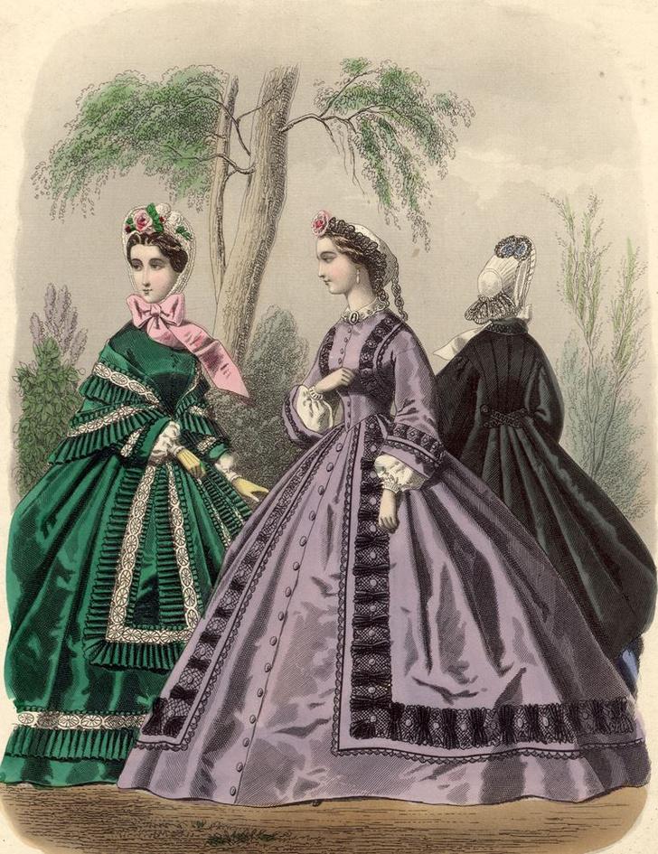 Фото №5 - Смерть от шляпы, корсета и зеленого цвета: 7 опасных модных тенденций
