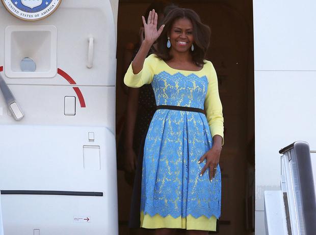 Фото №8 - От супруги президента к модной иконе: эволюция стиля Мишель Обамы