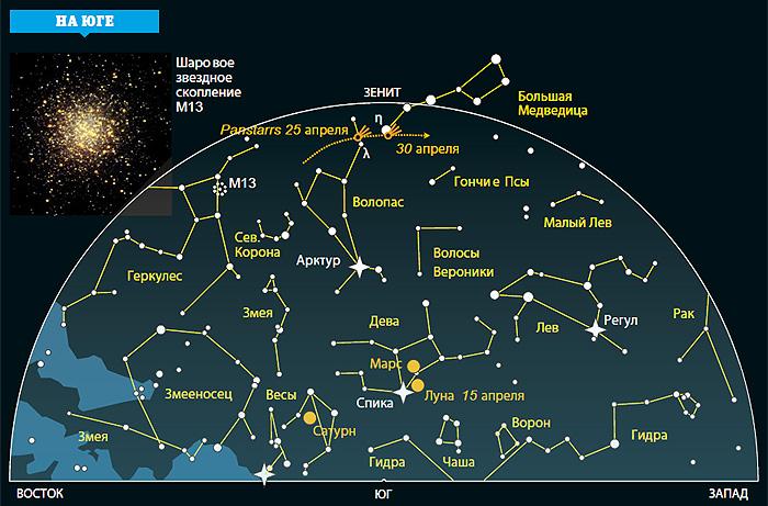 Фото №2 - Ночное небо: на что посмотреть в апреле
