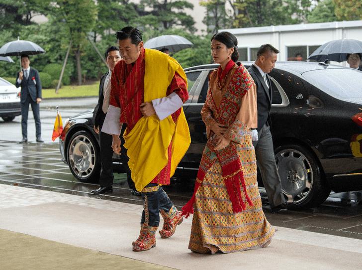 Фото №2 - Король и королева Бутана станут родителями во второй раз