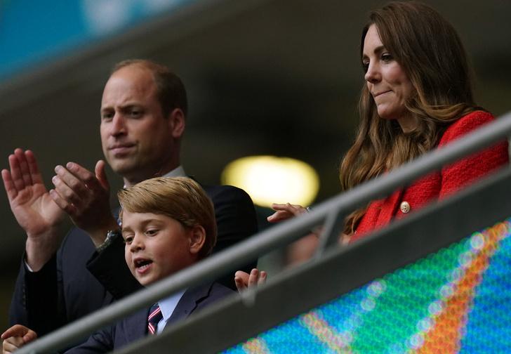 старшего сына Кейт Миддлтон и принца Уильяма спрячут от публики