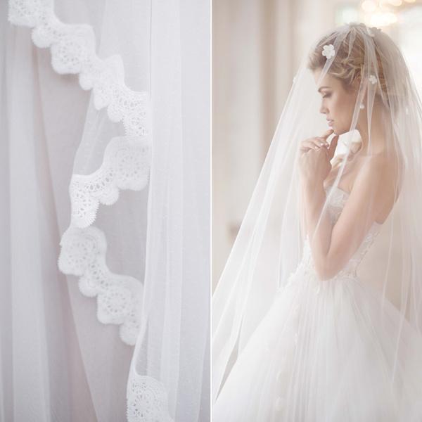 Фото №4 - Идеальная невеста: как подобрать свадебную фату