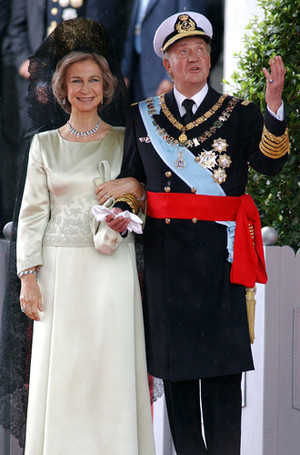 Фото №62 - Самые забавные моменты на королевских свадьбах (истории в фотографиях)