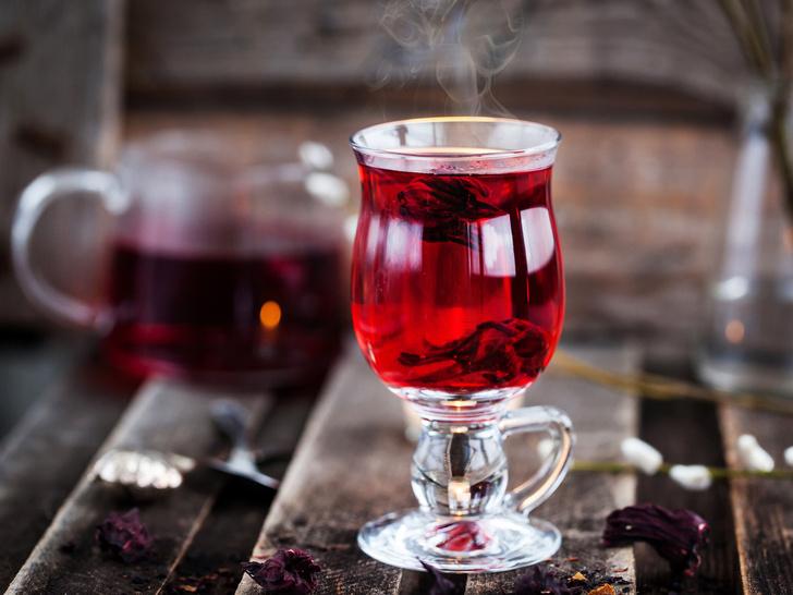 Фото №2 - Напиток фараонов: полезные свойства чая каркаде (и как правильно его заваривать)