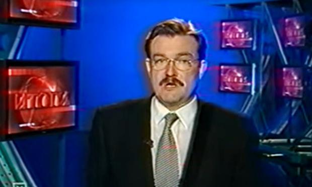 Фото №1 - Ироничное видео 2000 года, которое не отличить от современных новостей