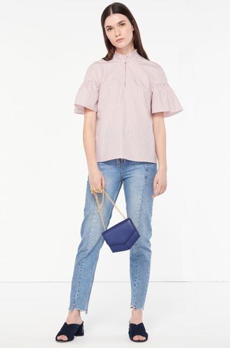 Фото №4 - Тренды весны в новой коллекции сумок и обуви Sandro SS17