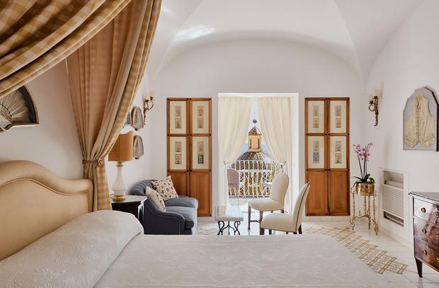 Фото №9 - Отель Le Sirenuse в здании XVIII века в Позитано