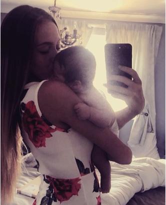 Фото №5 - Фитоняшка только на девятом месяце поняла, что беременна