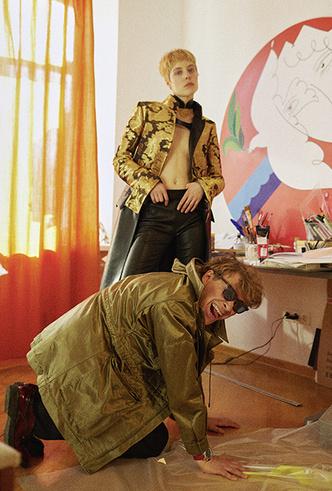 Фото №8 - Павел Пепперштейн: «Я готов стать говорящим фаллосом, но во мне пока что много лишнего»
