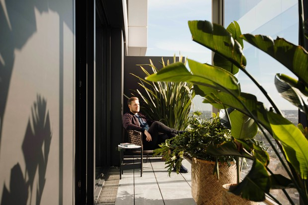 Фото №8 - Апартаменты во Франкфурте по проекту Себастьяна Херкнера