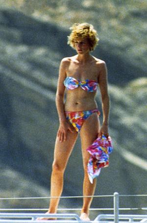 Фото №6 - Принцесса пляжа: бикини-стиль Дианы