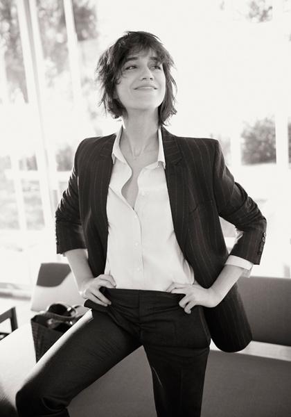 Фото №1 - Шарлотта Генсбур в новой рекламной кампании Gerard Darel