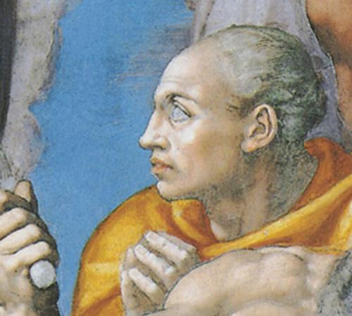 Фото №8 - Обидеть художника: 7 тайн «Страшного суда» Микеланджело
