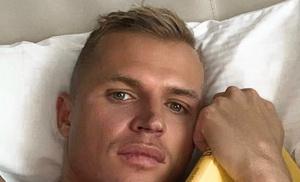 Стало известно, как именно Дмитрий Тарасов сломал ногу на тренировке