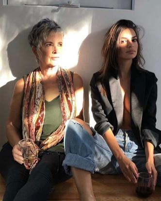 Фото №29 - Ген стиля: как выглядят и одеваются мамы супермоделей