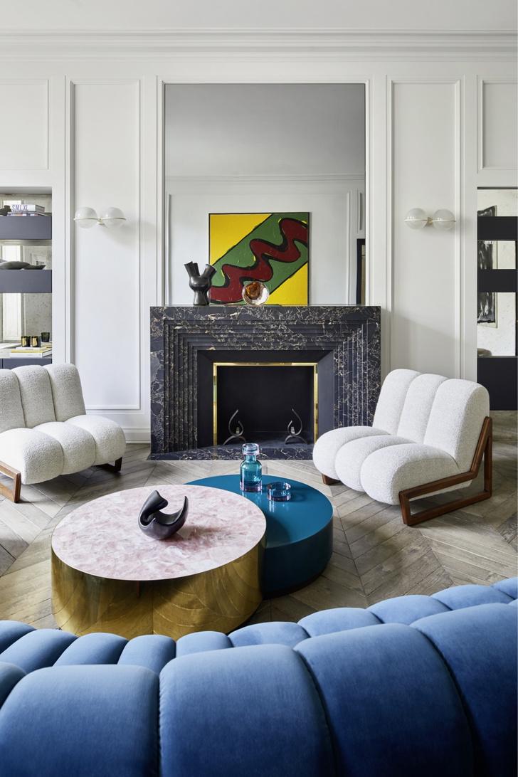 Фото №2 - Квартира в Париже по дизайну Humbert & Poyet