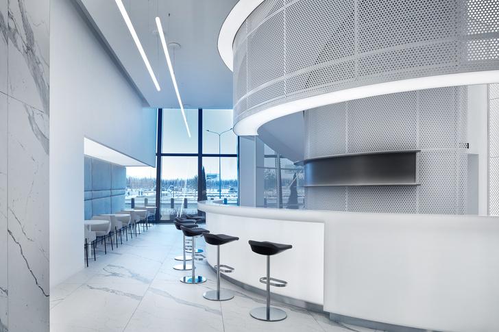 Фото №14 - VIP-зал в аэропорту «Гагарин» по проекту VOX Architects