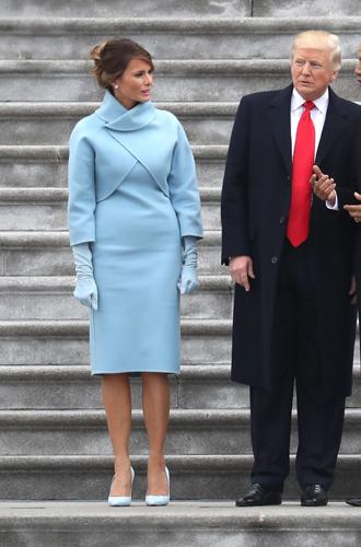 Фото №18 - Стильные близнецы: Меган Маркл и Мелания Трамп