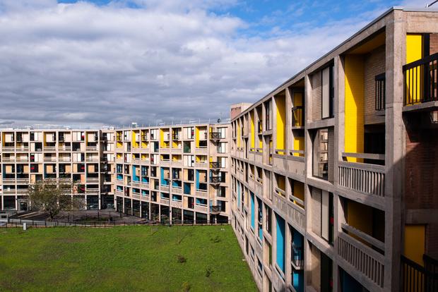 Фото №1 - Студенческое общежитие в духе Ле Корбюзье в Шеффилде