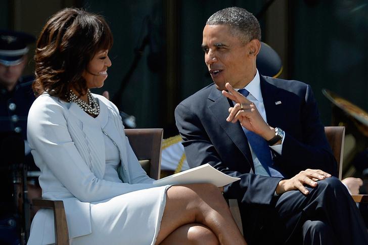 Мишель Обама, Барак Обама