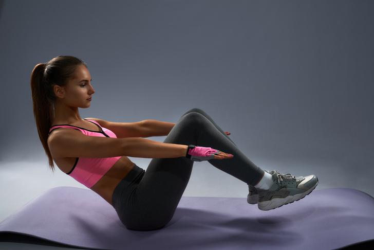 Фото №6 - 10 упражнений, которые помогут сжечь жир на животе за 10 минут в день