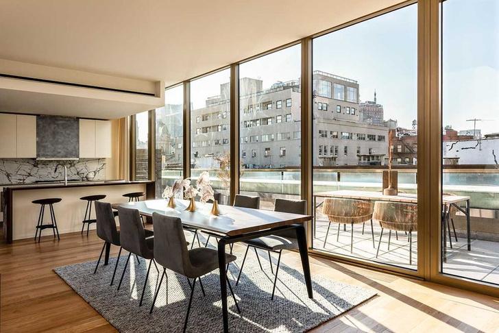 Фото №5 - Светлый пентхаус по дизайну Ленни Кравица в Нью-Йорке