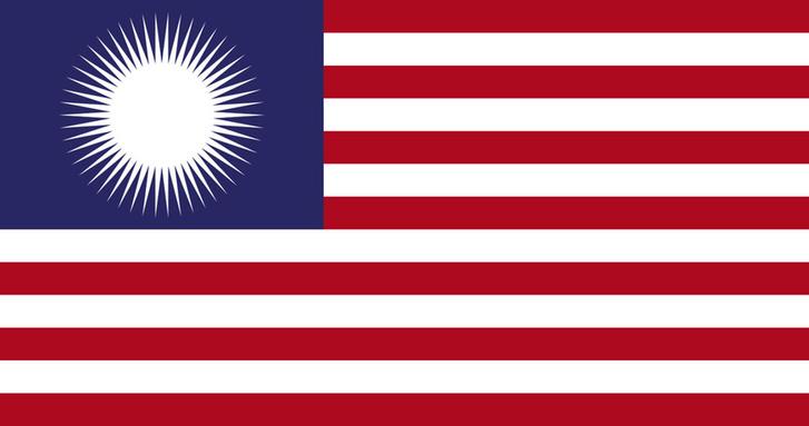 Фото №3 - Флаги одних государств в виде флагов других государств (странная галерея)