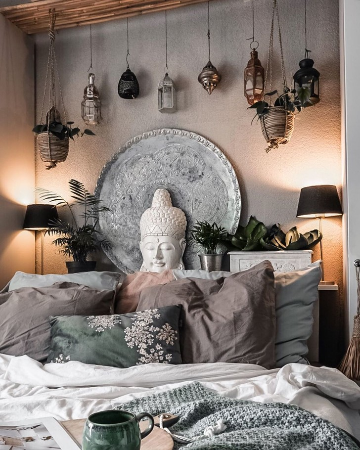 Фото №5 - Спальня в стиле бохо: идеи оформления