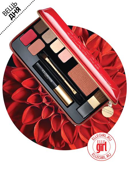 Фото №1 - Вещь дня: Набор для макияжа Palette de Maquillage от Clarins & Chapurin