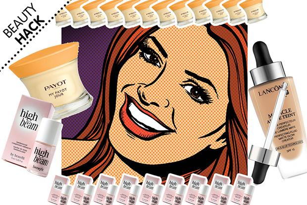 Фото №1 - Beauty Hack: Как привести кожу в порядок за 2 минуты