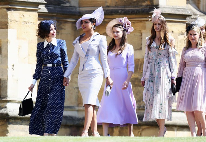 Фото №45 - 20 самых стильных гостей на свадьбе Меган Маркл и принца Гарри