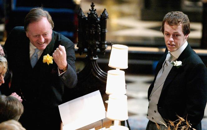 Фото №17 - Самые забавные моменты на королевских свадьбах (истории в фотографиях)