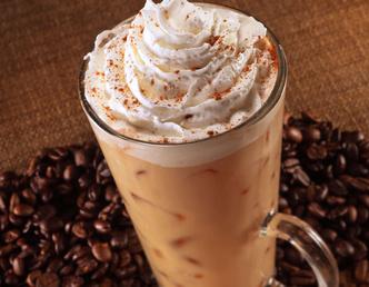 Кофе с сиропом, сладкий кофе, кофе «Карамельный рай»