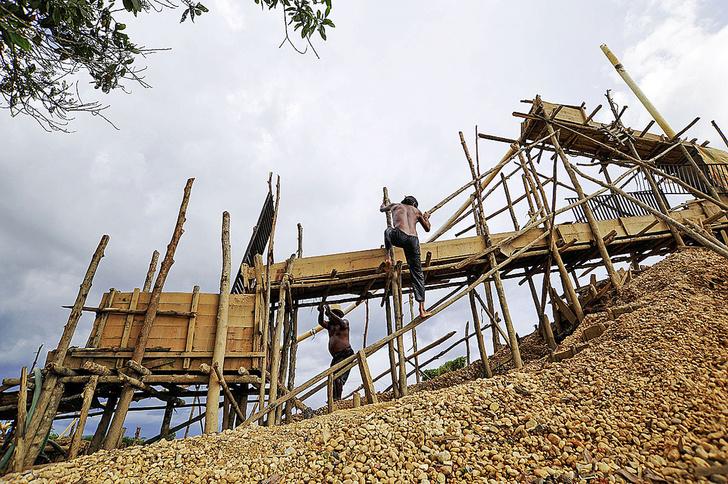 Фото №4 - Остров сокровищ: как на Борнео меняют алмазы на еду