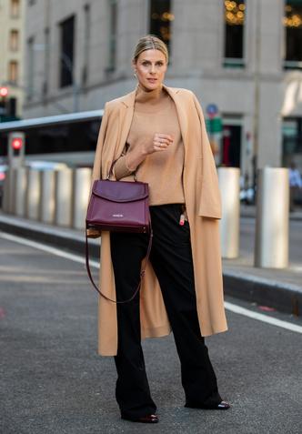 Фото №8 - С чем носить бежевое пальто: модные идеи на любой случай