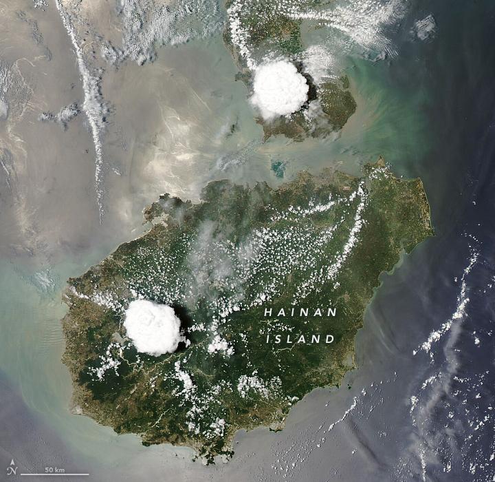 Фото №1 - Ученые объяснили «загадку» острова Хайнань