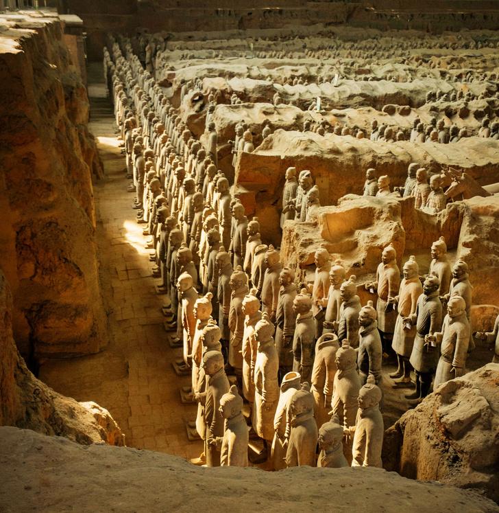 Фото №1 - Подземные стражи: загадка Терракотовой армии
