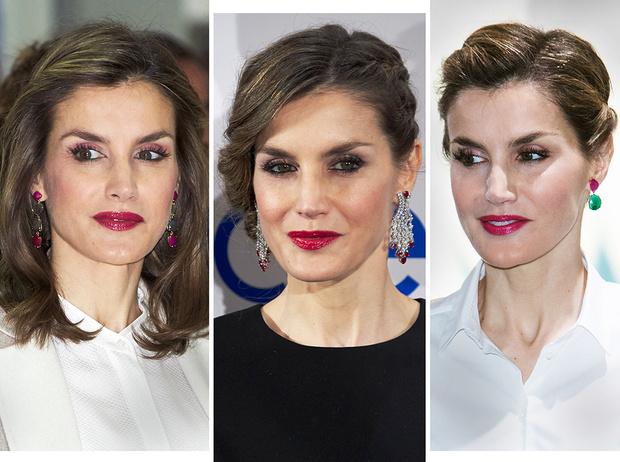 Фото №1 - Драгоценный макияж королевы Летиции