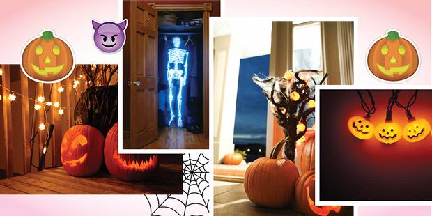Как украсить квартиру на Хэллоуин