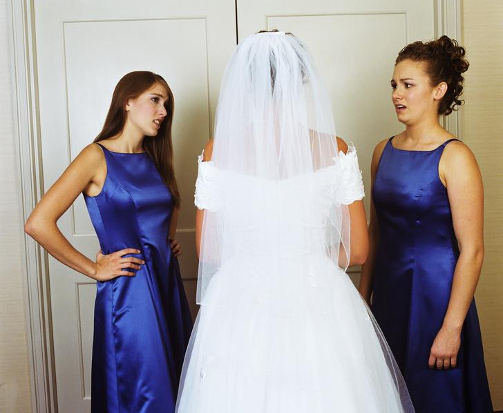 Фото №2 - Ожидание и реальность: жуткие свадебные платья с AliExpress