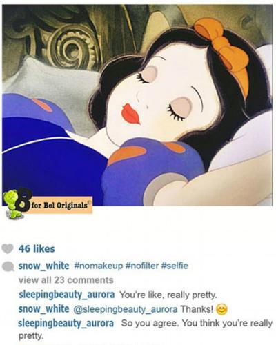 Фото №3 - У принцесс Disney появился Instagram