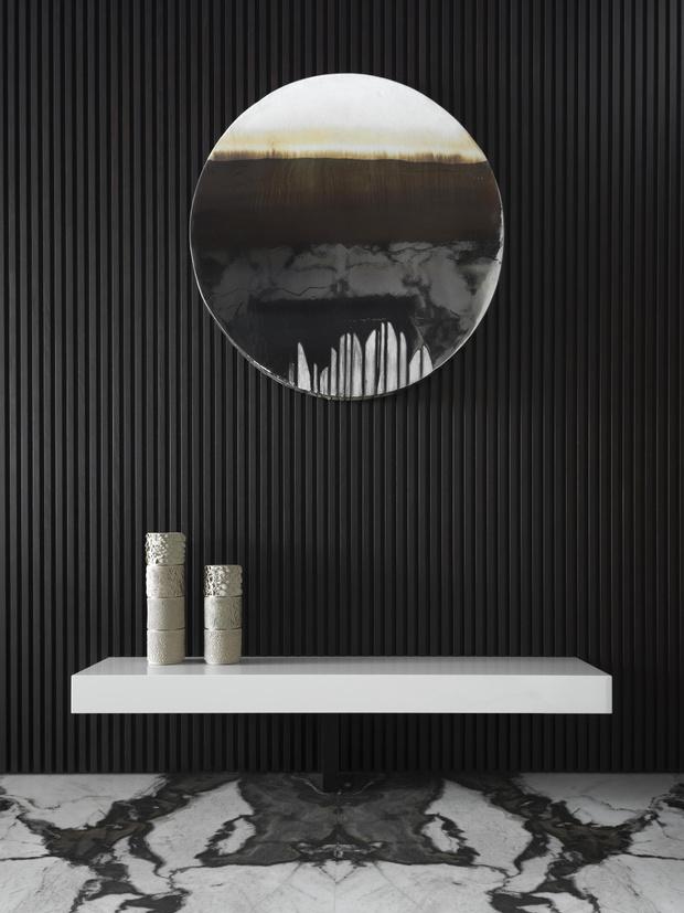 Фото №7 - Московская квартира 222 м² в стиле роскошный минимализм