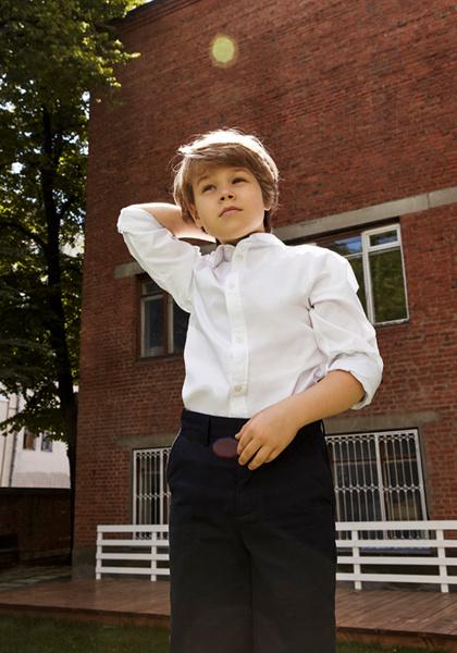 Фото №13 - Артём, Яна и Арсений Аршавины в рекламе школьной формы H&M