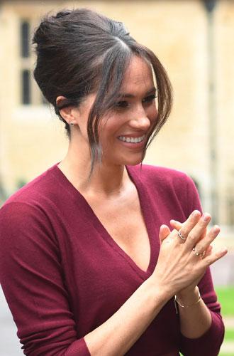 Фото №2 - Что означают новые кольца герцогини Меган